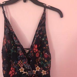 Monteau Maxi Dress Floral Size Large